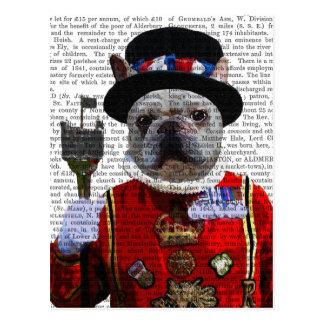Bulldog Beefeater Postcard