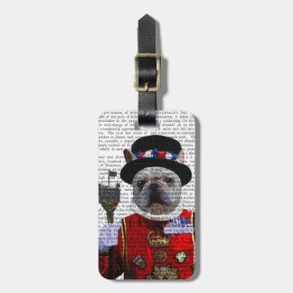 Bulldog Beefeater Travel Bag Tags