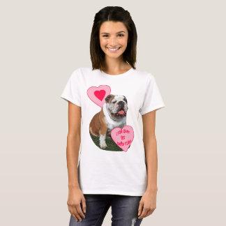Bulldog Belly rub T-Shirt