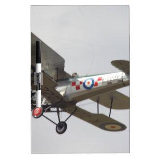 Bulldog Biplane Dry Erase Board