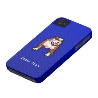 Bulldog Blue iPhone 4 Cases