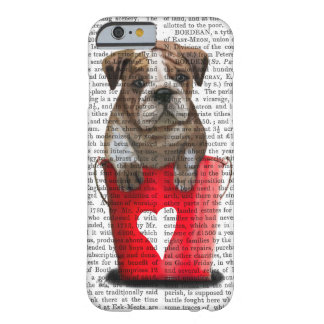 Bulldog Bucket Of Love Red Barely There iPhone 6 Case
