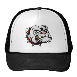 Bulldog Cartoon Mascot Cap