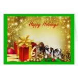 Bulldog Christmas Gifts Greeting Card