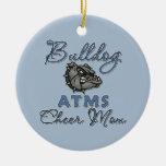 Bulldog Christmas Tree Ornaments