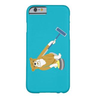 Bulldog Curling iPhone 6 Case