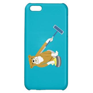 Bulldog Curling iPhone 5C Cases