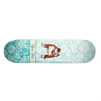Bulldog; Cute Skateboard Deck