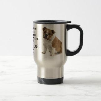 Bulldog Dad Travel Mug