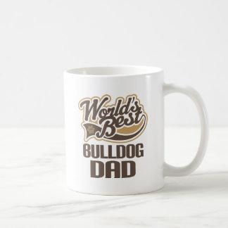 Bulldog Dad (Worlds Best) Basic White Mug