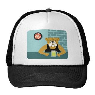 Bulldog Dartboard Beer Bar Cap