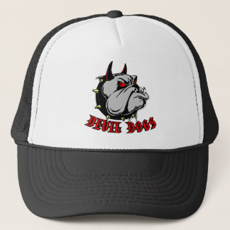 Bulldog Devil Dogs Trucker Hat