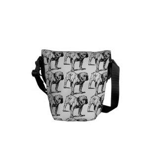 Bulldog Dog Courier Bags