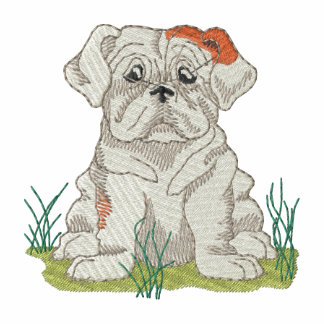 Bulldog Embroidered Jacket