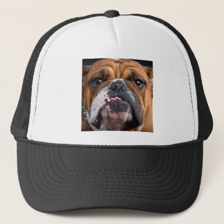 Bulldog English Bad Face Trucker Hat