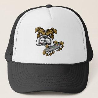 Bulldog Esports Gamer Mascot Trucker Hat