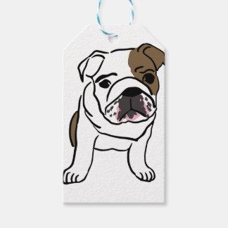 Bulldog Gift Tags