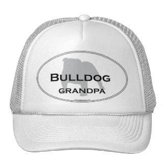Bulldog Grandpa Cap