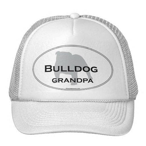 Bulldog Grandpa Hats