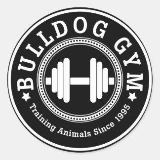 Bulldog Gym Dumbbell Sticker