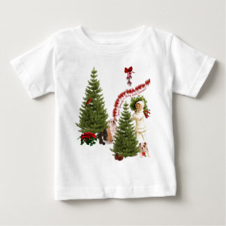 Bulldog Have Yourself a Merry Little Christmas T-shirts