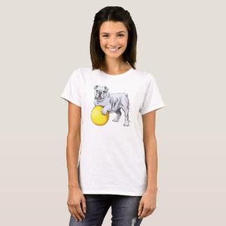 Bulldog Illustration Shirt