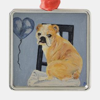 Bulldog Madeline Christmas Ornament