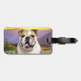Bulldog Meadow Luggage Tag