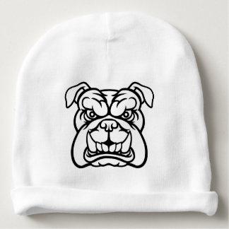 Bulldog Mean Sports Mascot Baby Beanie