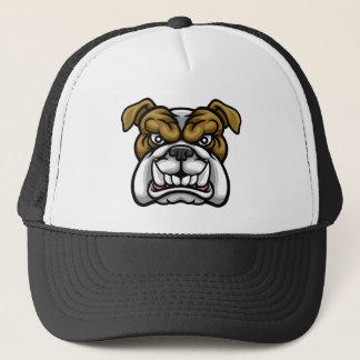Bulldog Mean Sports Mascot Trucker Hat
