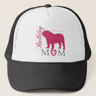 Bulldog mom trucker hat