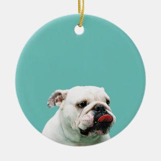 Bulldog Ornament