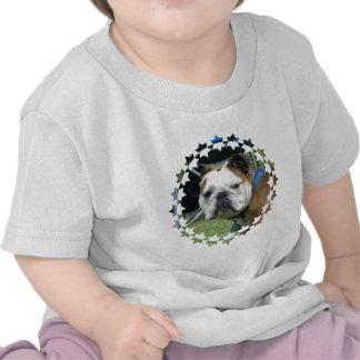 Bulldog Photo Baby T-Shirt