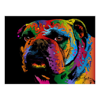 Bulldog Posters