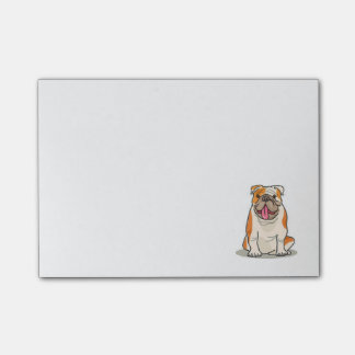 Bulldog PostIts Post-it Notes