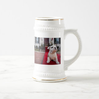 Bulldog Puppy Beer Stein
