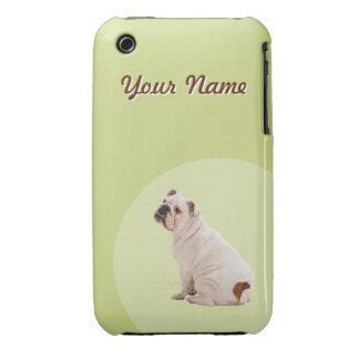 Bulldog Retro Case-Mate iPhone 3 Case