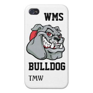 Bulldog School Mascot - SRF iPhone 4/4S Case