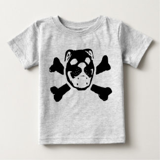 Bulldog Skull for Baby Baby T-Shirt