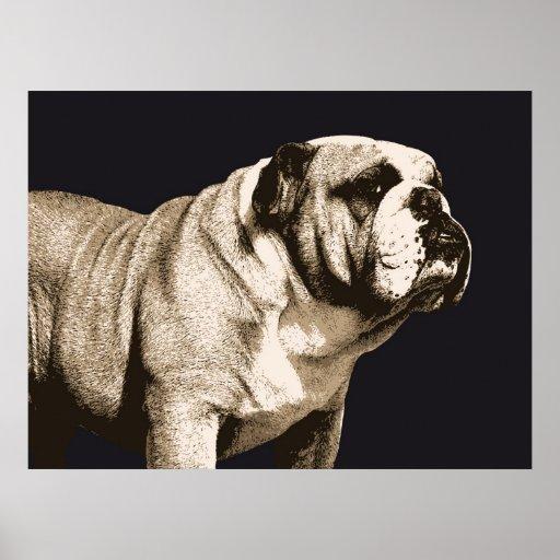 Bulldog Spirit Posters