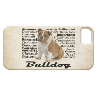 Bulldog Traits Smartphone Case iPhone 5 Covers
