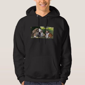 Bulldog Unisex Hooded Sweatshirt