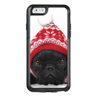 Bulldog With Hooded Sweater OtterBox iPhone 6/6s Case