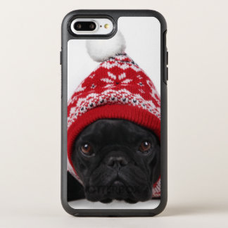Bulldog With Hooded Sweater OtterBox Symmetry iPhone 8 Plus/7 Plus Case