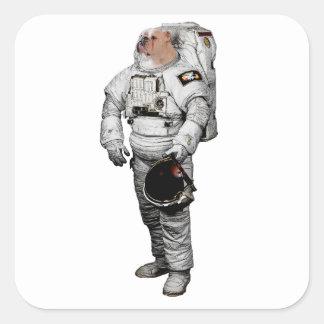 Bulldogge Astronaut Sticker