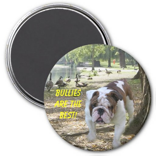 Bulldogs Are The Best Magnet