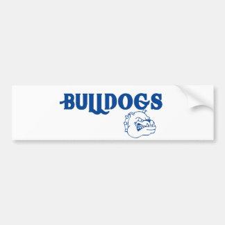 Bulldogs Bumper Sticker