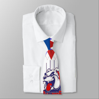 Bulldogs diamond tie