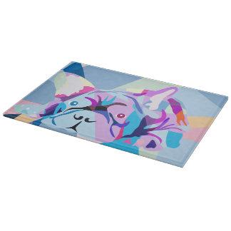 Bulldogs glasboard cutting board