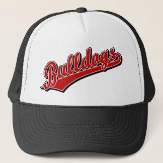 Bulldogs in Red Trucker Hat